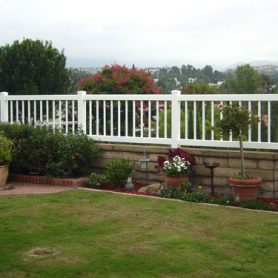 Picket/Block Wall Fence