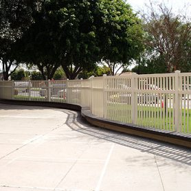 Picket Fence – Tan