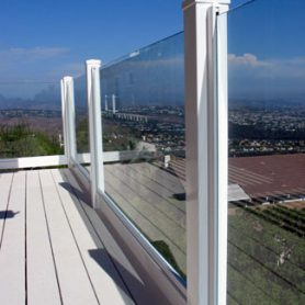 Glass/Vinyl Handrail – Extended View