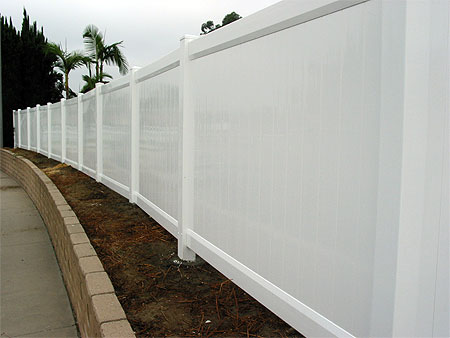 Solid Privacy Fence Vinyl Pro Fence