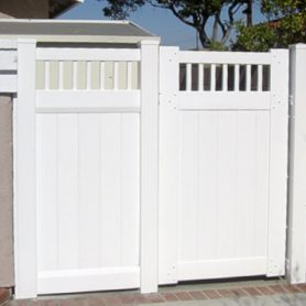 Privacy Gate – Picket Top