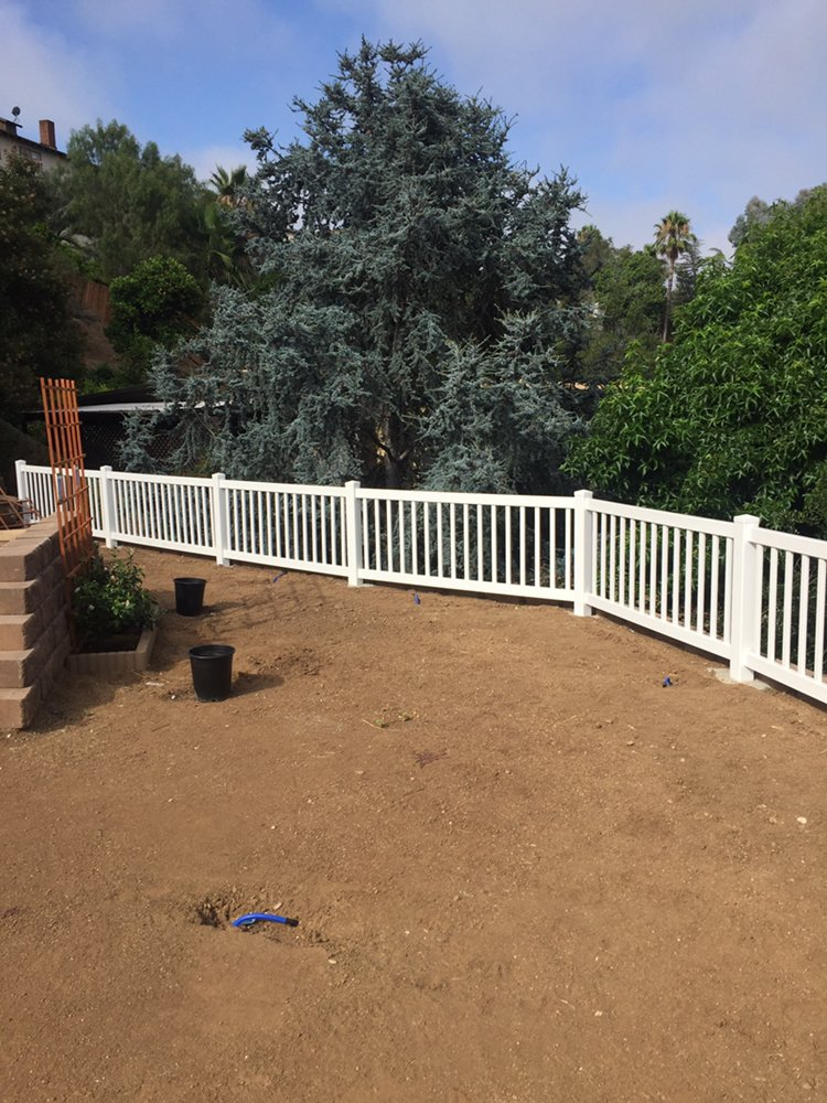 3 Foot Tall Closed Top Picket Fence Vinyl Pro Fence