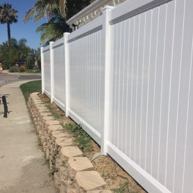 6 Foot Tall Full Privacy Fence