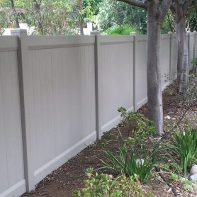Adobe Full Privacy Vinyl Fence