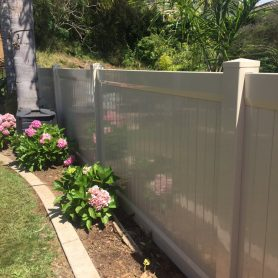 5 Foot Tall Full Privacy Fence