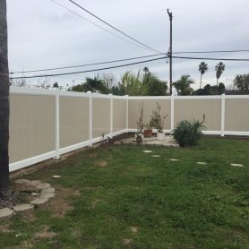 Full Privacy Fence Vinyl