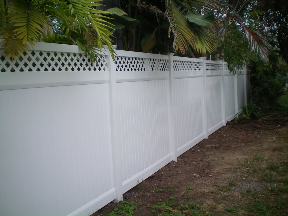 Privacy With Accent Archives Vinyl Pro Fence