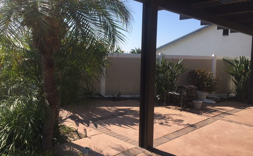 6 foot tall full privacy 2 Tone Fence